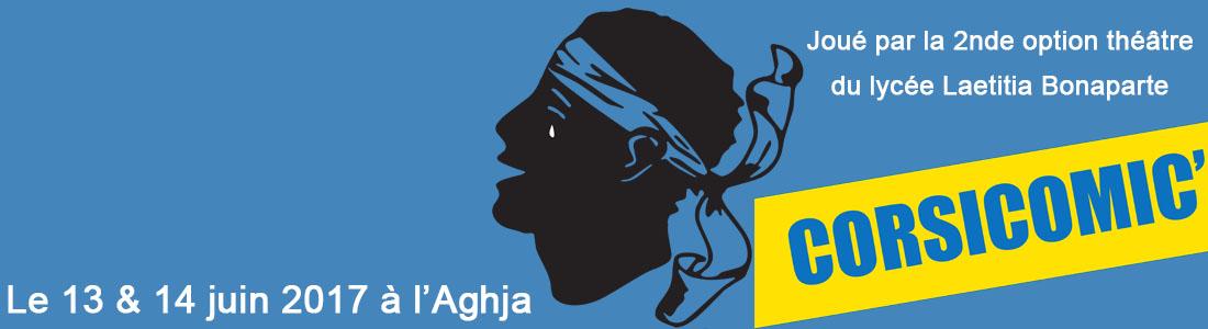 Option théâtre en seconde: mardi 13 et mercredi 14 juin à l'Aghja